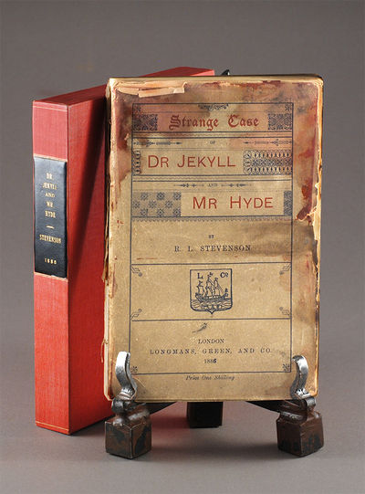 An early edition of the Strange Case of Dr Jekyll and Mr Hyde