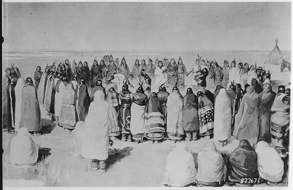 Arapaho Ghost Dance circa 1900