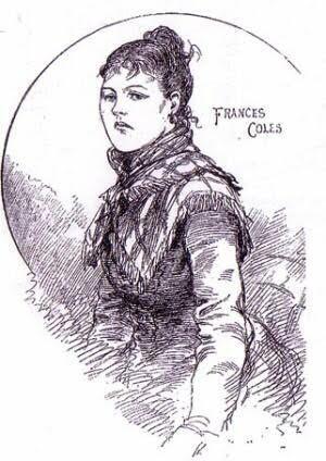 Illustration of Frances Coles