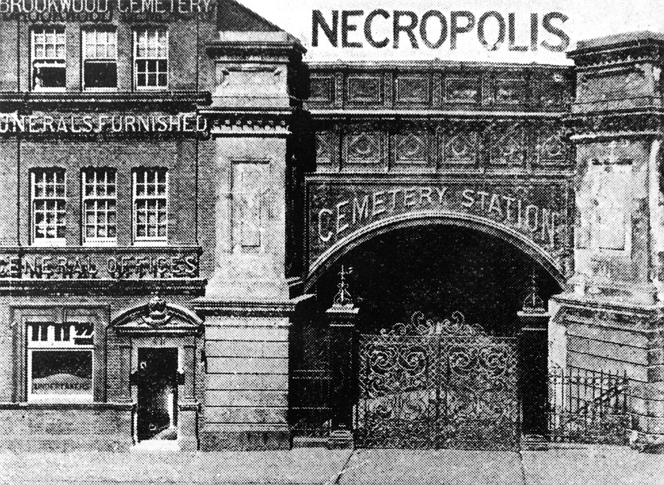 Necropolis Cemetery Station in London