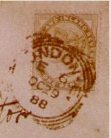 London's E.C. postmark