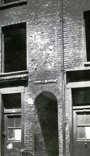 Miller's Court Entrance