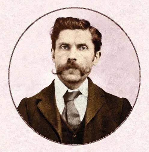 A young Seweryn Klosowski