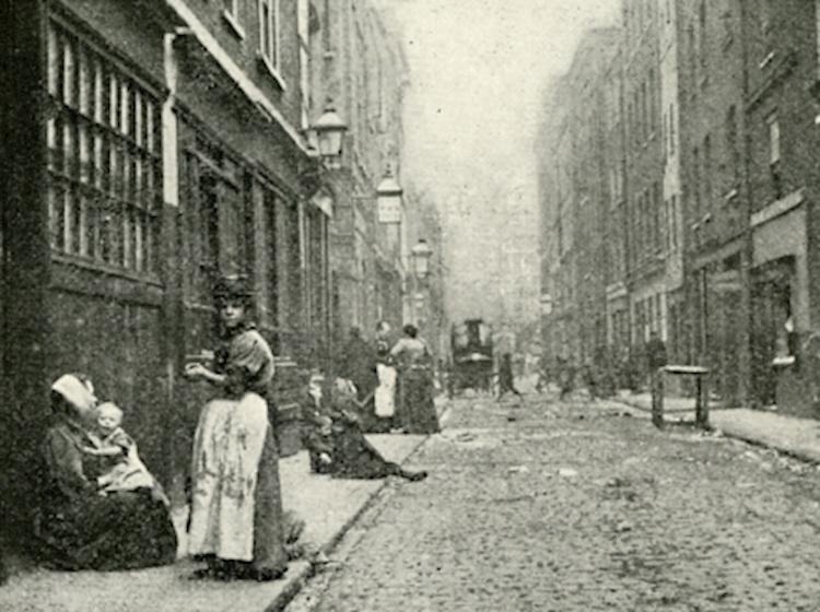Dorset Street in Spitalfieds