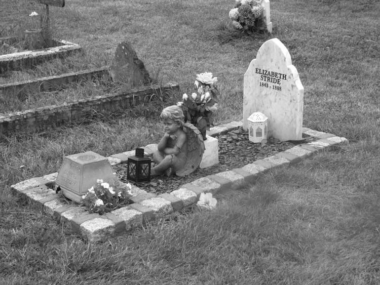 Elizabeth Stride grave at the East London Cemetery
