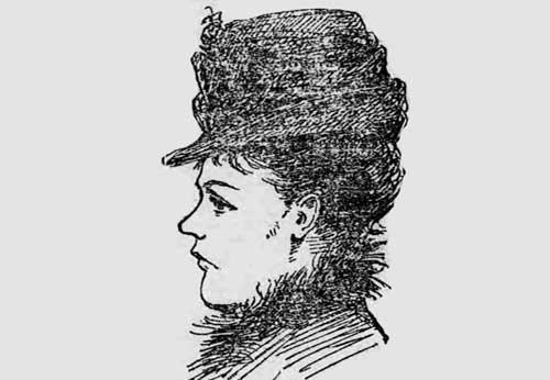 Profile portrait of Frances Coles